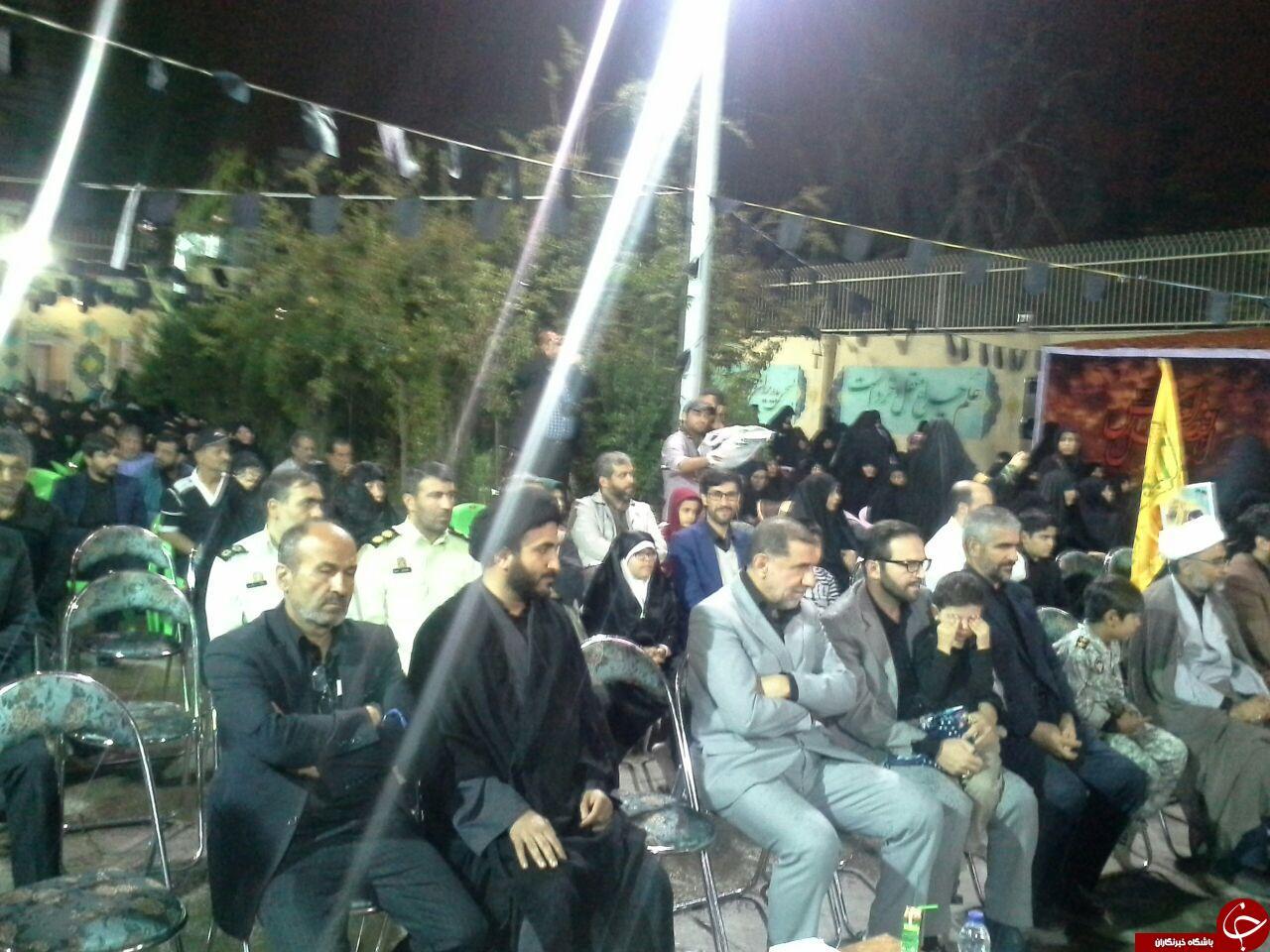 مراسم یادواره شهدای مدافع حرم و سالگرد شهادت شهید همدانی برگزارشد