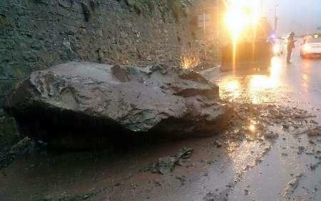 سقوط سنگ در هراز یک کشته داد