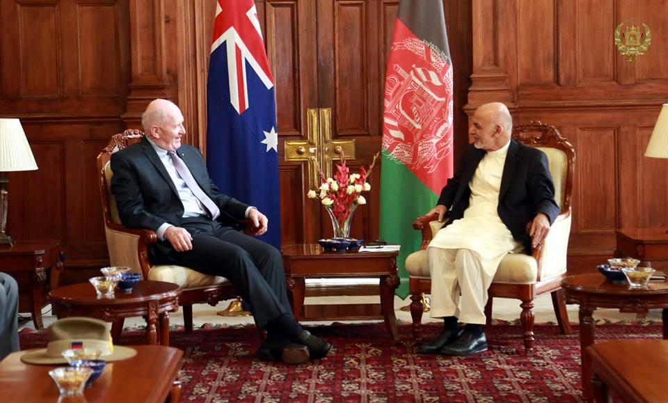 ابراز علاقه استرالیا برای سرمایه گذاری در بخش معدن افغانستان