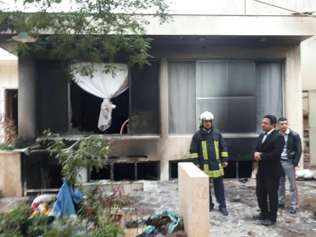 آتشسوزی مرگبار در زیر زمین ساختمان مسکونی در خیابان جهاد مشهد