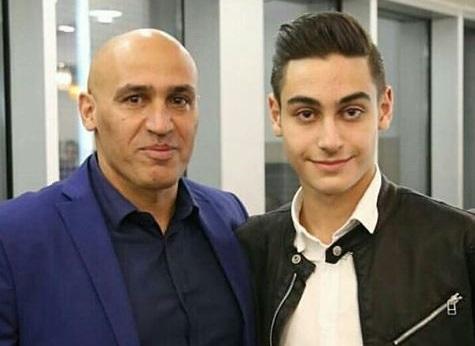 آلمانی و پسرش در ایران،منصوریان و پسرش در آلمان!