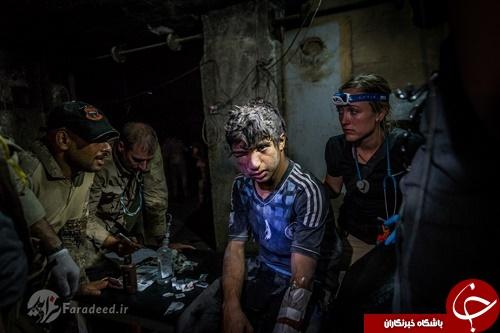 عکسهای تکان دهنده از قربانیان حملات داعش