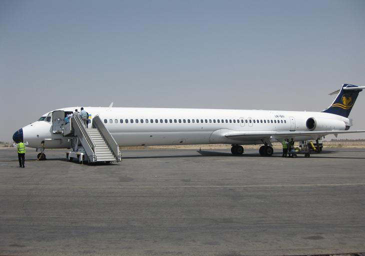 انتقال پرواز های فرودگاه کرمانشاه به فرودگاه همدان