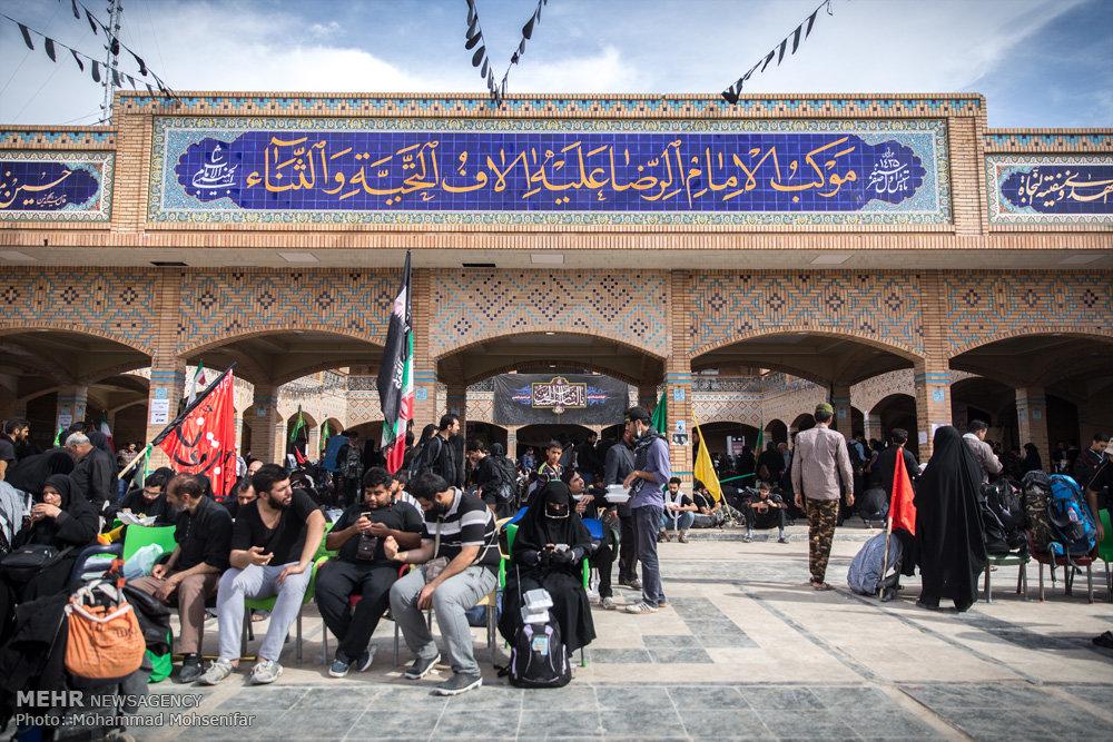 مشارکت 9 استان برای خدماترسانی به زوار اربعین در ایلام