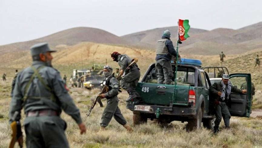 جان باختن 24 نفر از نیروهای امنیتی افغانستان در درگیری با طالبان