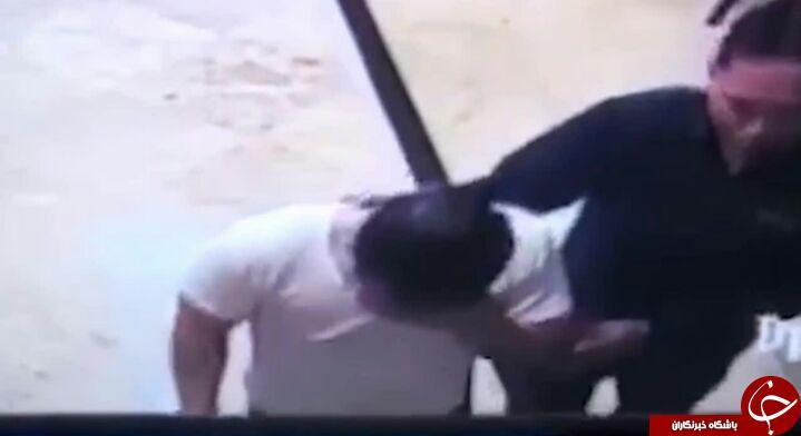 لحظه وحشتناک انفجار تلفن همراه در جیب پیراهن یک کاربر + فیلم