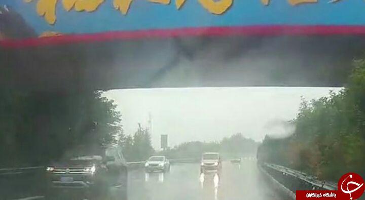 رانندگی خلاف جهت زن چینی در اتوبان همه را شوکه کرد! فیلم
