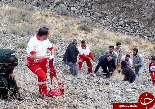 یک کشته در سقوط خودرو به دره