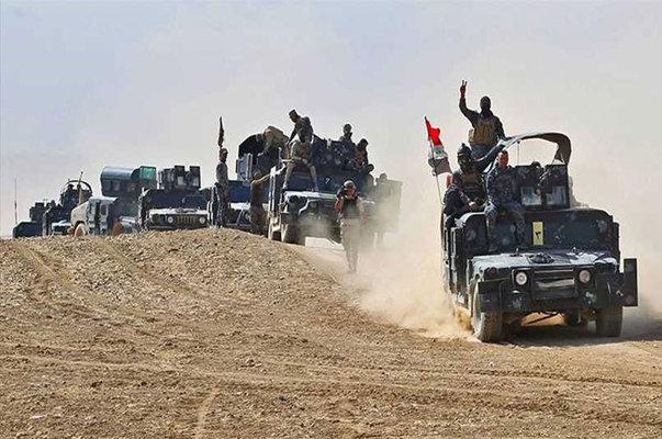 آزادسازی ناحیه الریاض درحومه الحویجه عراق
