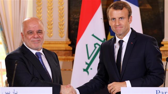 وعده کمک 430 میلیون یورویی رئیسجمهور فرانسه به عراق