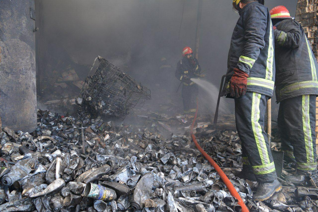 جزئیات آتش سوزی کارخانه واکس در آرپادرسی