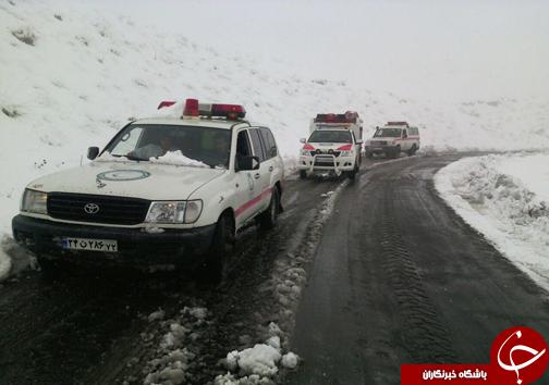 امدادرسانی هلال احمر مازندران به ۹۲۴ نفر در دو روز گذشته +تصاویر