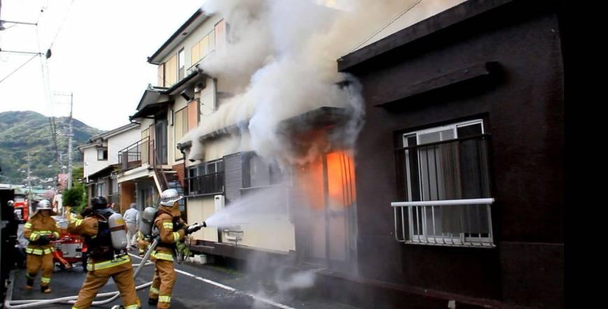 کشته شدن 6 نفر بر اثر آتشسوزی عمدی در ژاپن