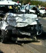 باشگاه خبرنگاران -تصادف مرگبار 2 خودرو در جاده سیمان/ 3 تن جان باختند