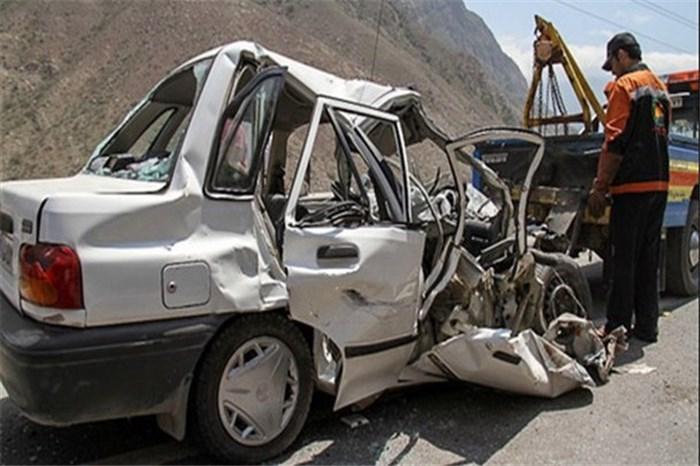 تصادف مرگبار 2 خودرو در جاده سیمان/ 3 تن جان باختند