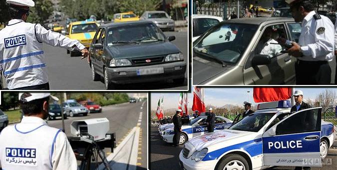 ترخيص وسايل نقليه توقيف شده در هفته نيروي انتظامي
