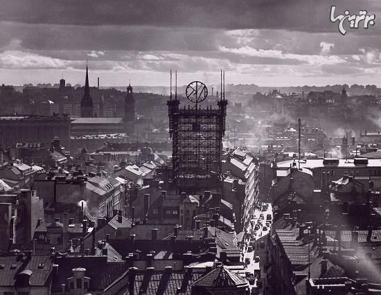 تاریخ برج تلفن استکهلم+تصاویر
