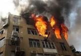 باشگاه خبرنگاران -آتش سوزی ساختمان ٩ طبقه در جنوب پایتخت