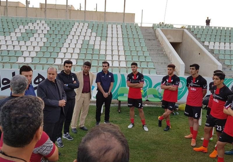 حضور تاج و کیروش در تمرین تیم فوتبال جوانان