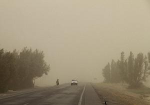 تداوم وزش باد همراه با گردوخاک در منطقه سیستان