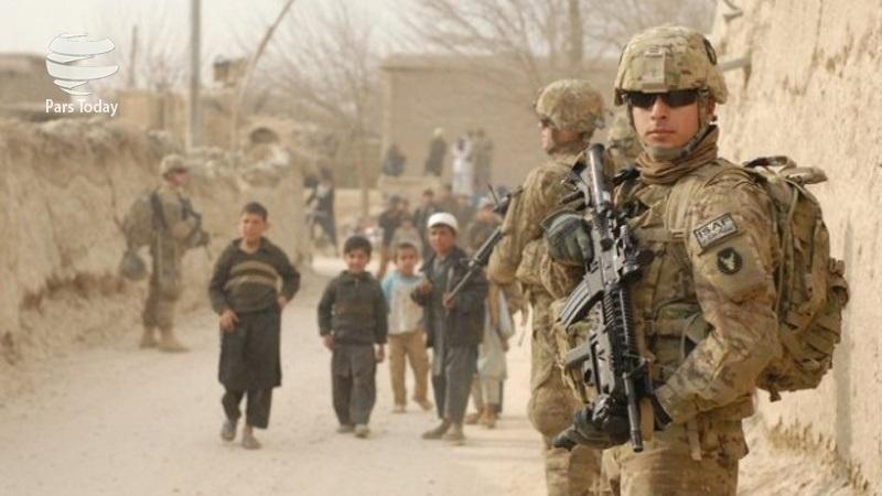تظاهرات ضد آمریکایی و ضد ناتو در کابل در شانزدهمین سالگرد تهاجم آمریکا به افغانستان