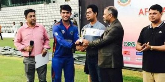 تیم کریکت ۱۹سال افغانستان بنگلادش را شکست داد