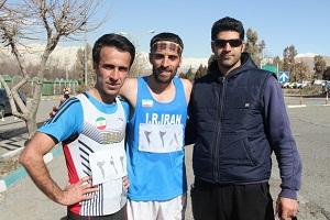 باشگاه خبرنگاران -قهرمانی زور آوند در 20 کیلومتر پیاده روی