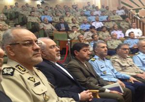 ظریف در دانشگاه فرماندهی و ستاد ارتش سخنرانی کرد