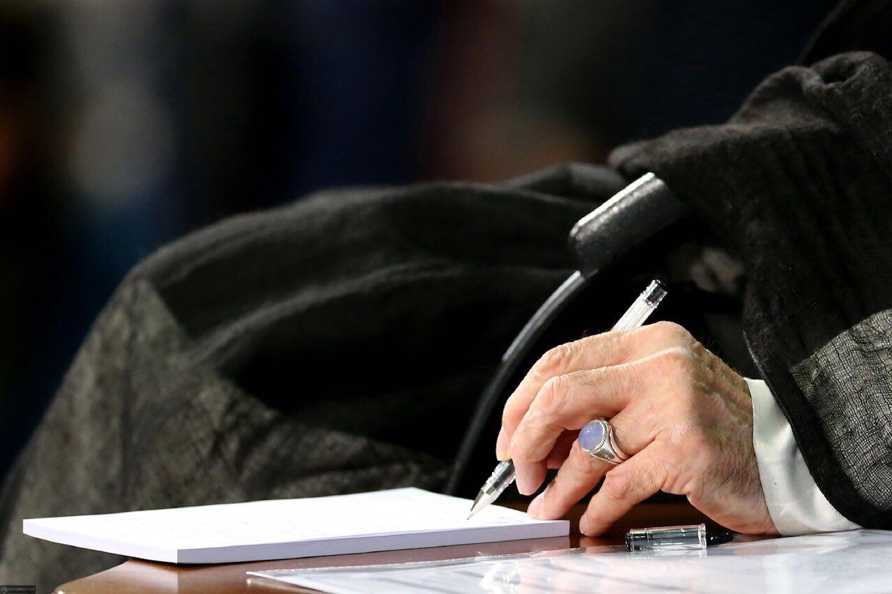 رهبر انقلاب درگذشت حاج داود احمدینژاد را تسلیت گفتند