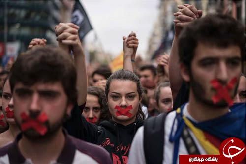 تصاویر هفته: از تیراندازی مرگبار در لاس وگاس تا برگزاری همه پرسی در کاتالان
