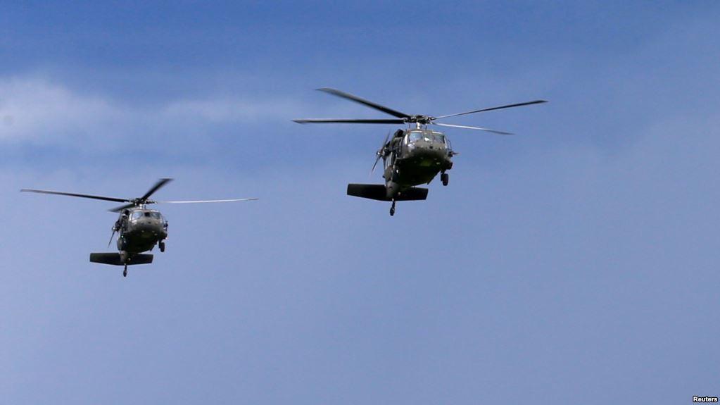آمریکا 2 بالگرد «بلک هاوک» را رسما به افغانستان تحویل می دهد