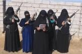 باشگاه خبرنگاران -داعش خطاب به زنان عضو این گروه: سلاح به دست بگیرید و برای قربانی کردن جانتان آماده شوید!