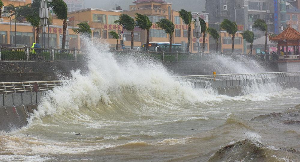 توفان «نیت» مهمان جدید سواحل خلیج مکزیک