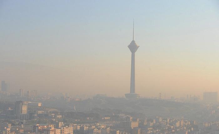 هوای پایتخت در آستانه وضعیت ناسالم برای گروه های حساس