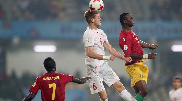 تیم ملی فوتبال ایران 3 - گینه یک / پیروزی شاگردان چمنیان در نخستین گام