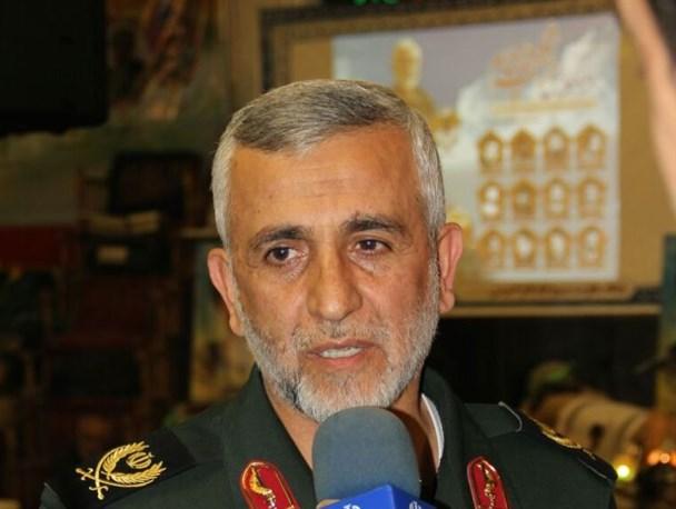 سردار همدانی به مردم سوریه جرات و جسارت مقابله با دشمن را داد