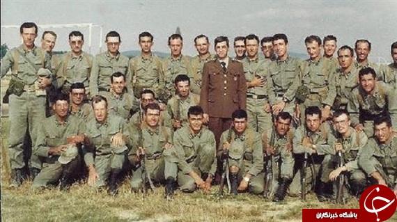 اردوغان در لباس سربازی+ تصاویر