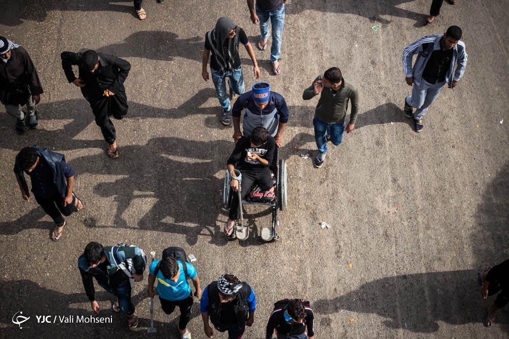 پیاده روی اربعین کربلا   عکس