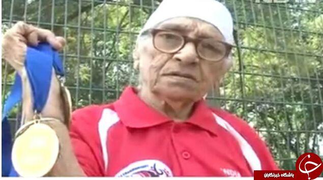 راز طول عمر زن 101 ساله هندوستانی + تصاویر