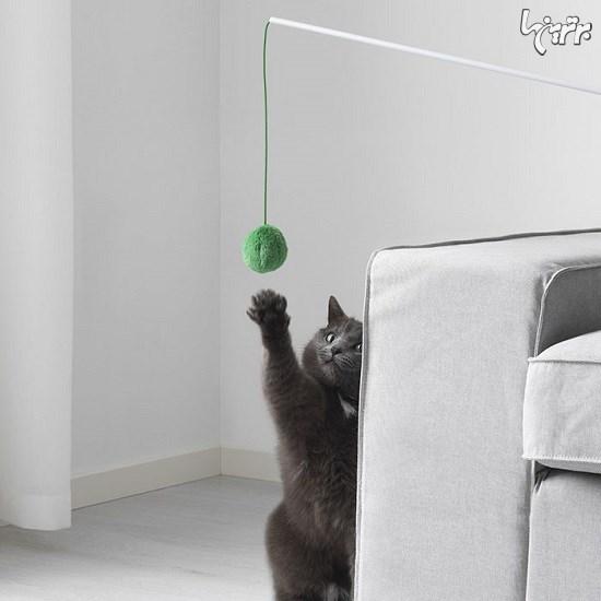 طراحی مبلمان مخصوص حیوانات خانگی+تصاویر