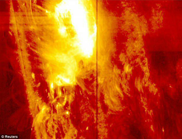سپر خورشیدی طرح محافظتی از زمین در برابر سهمگینترین توفان جهانی