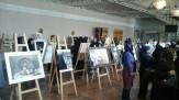 باشگاه خبرنگاران -برپایی نمایشگاه نقاشی در تالار فخرالدین اسعد گرگانی