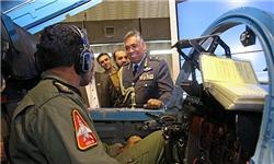 فرمانده نیروی هوایی عمان از پایگاه شهید لشکری ارتش بازدید کرد