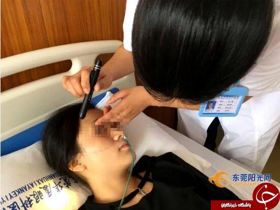 بازی بی وقفه با موبایل، سرانجام  زن چینی را کور کرد + تصاویر