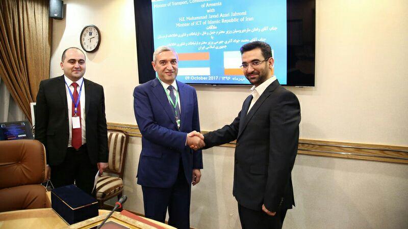 باشگاه خبرنگاران -گسترش همکاری های ایران و ارمنستان در زمینه ترانزیت ، امنیت سایبری و تبادلات پستی