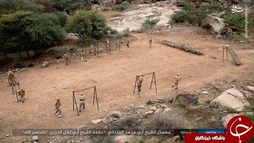 پادگان های آموزشی داعش در یمن +تصاویر