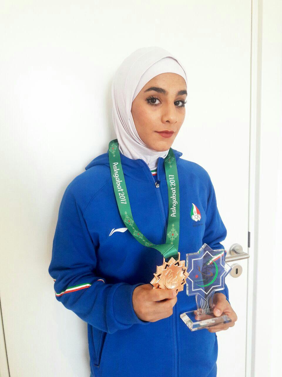 باشگاه خبرنگاران -سیاهوشی: امید زیادی به کسب مدال در رقابتهای جهانی دارم