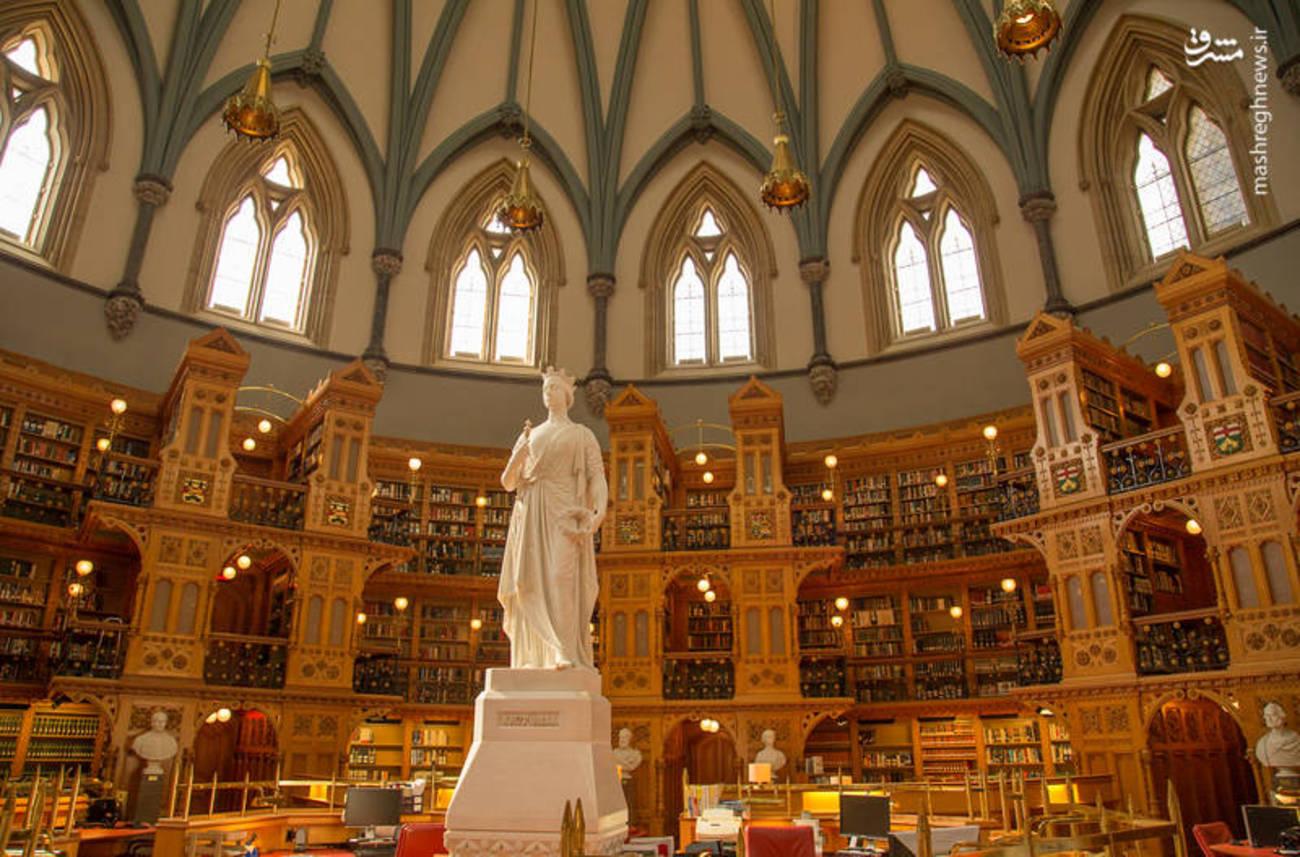 تصاویری از زیباترین کتابخانه جهان