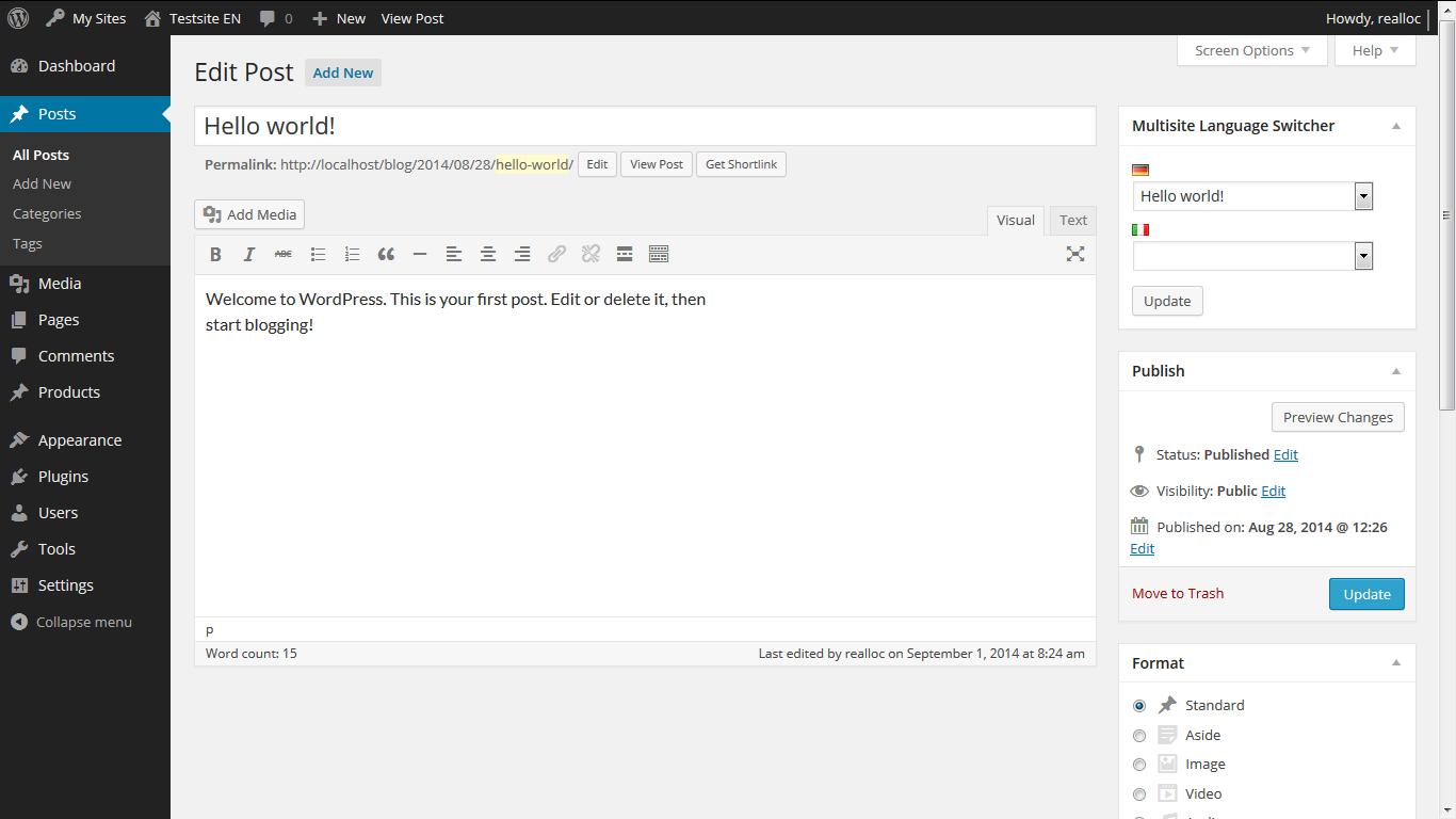 دانلود نسخه فارسی وردپرس WordPress 4.8.2 – سیستم مدیریت محتوا