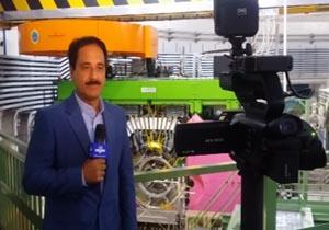 جدیدترین شگرد حمید معصومینژاد در تدوین گزارشهای خبری در رم + فیلم